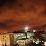 Amerikai-brit-francia légicsapások szíriai célpontok ellen